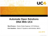 Automate your Open Solutions DNA processes