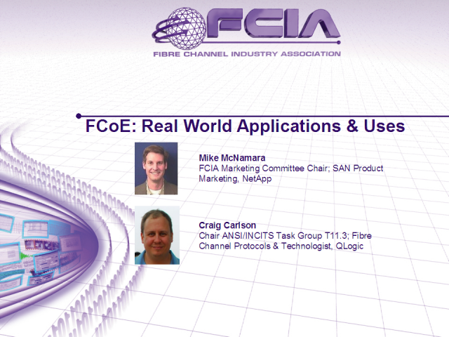 FCoE: Real World Applications & Uses