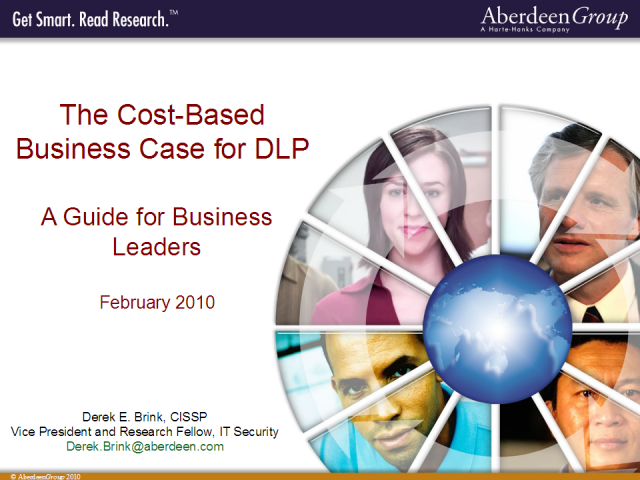 The Cost-Based Business Case for DLP