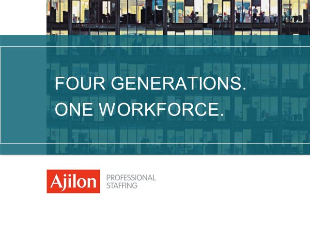 Recruiting, Retaining and Inspiring a Multi-Generational Workforce