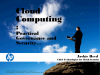 Cloud Computing: Practical Governance and Security