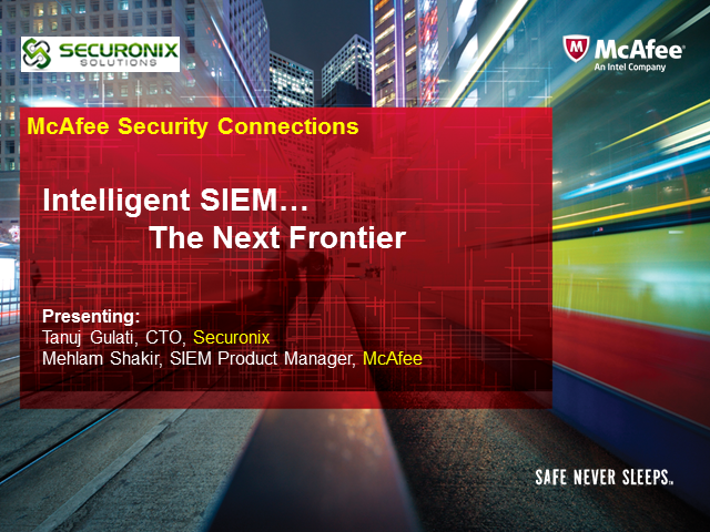SIEM with Integrated Identity Intelligence