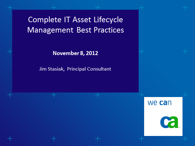 Complete IT Asset Lifecycle Management Best Practices
