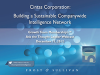 Building a Sustainable Companywide Intelligence Network