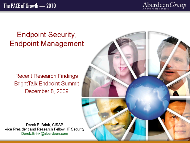 Recent Research Findings in Endpoint Security, Endpoint Mgmnt