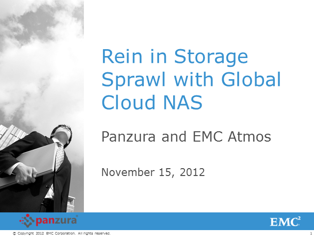 Rein in Storage Sprawl with Global Cloud NAS