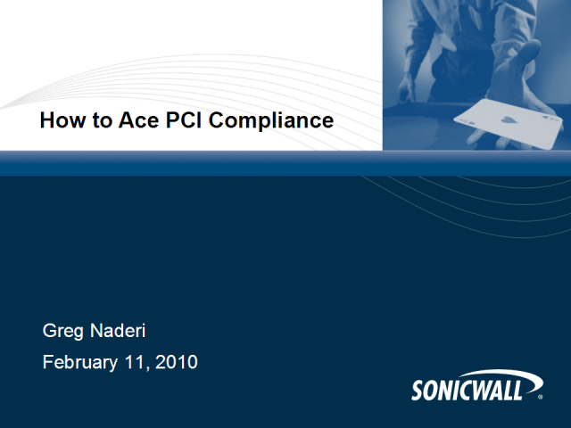 How to Ace PCI Compliance
