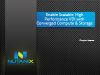 Enable Scalable High-Performance VDI with Converged Compute and Storage