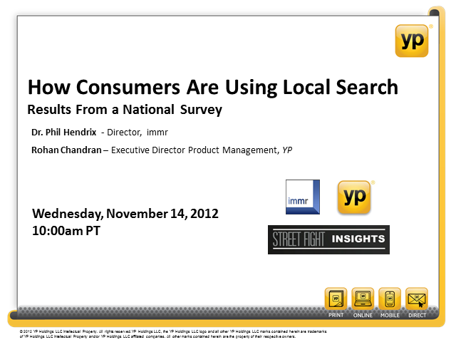 How Consumers Are Using Local Search