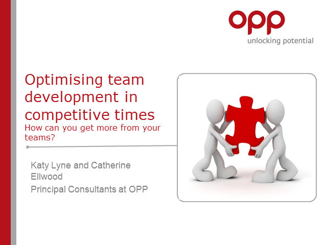 Optimising team performance in competitive times