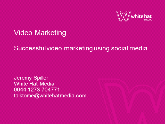Video Marketing Strategies, Tactics, Tips and Case Studies in Social Media