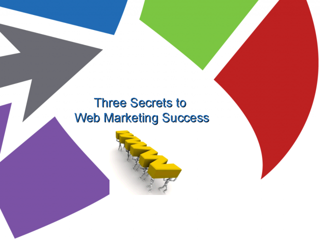 Three Secrets to Web Marketing Success