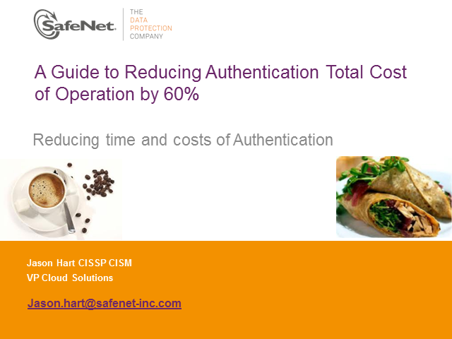 A Guide to Reducing Authentication TCO by 60%