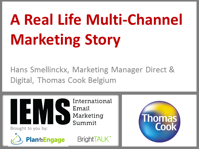 A Real Life Multi-Channel Marketing Story