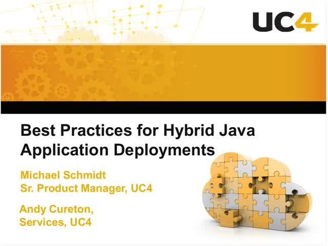 Best Practices for Hybrid Java Applications Deployments
