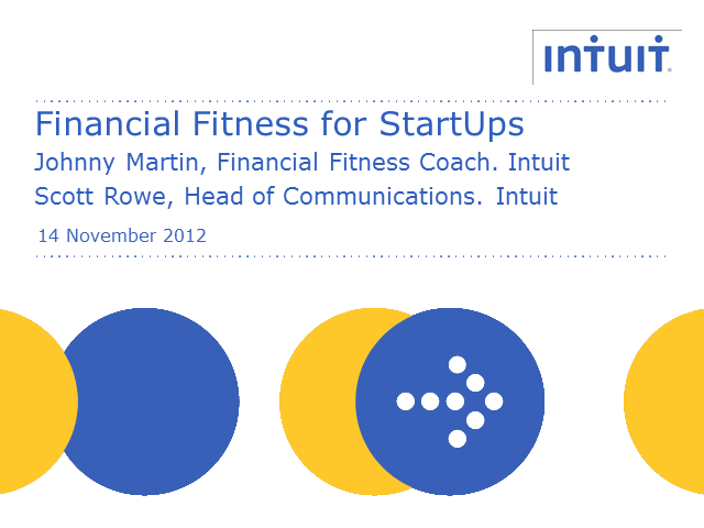 Financial Fitness for Start Ups - 3 steps to manage your business finances