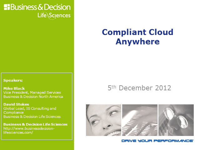 Compliant Cloud Anywhere