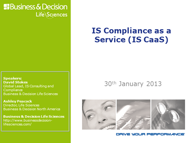 IS Compliance as a Service