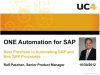 Best Practices in Automating SAP and Non-SAP Processes
