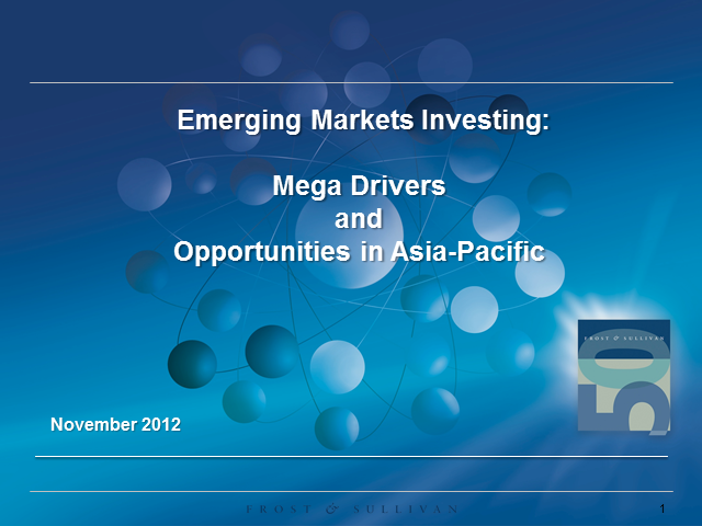 Emerging Markets Investing: Mega Trends and Opportunities in Asia-Pacific
