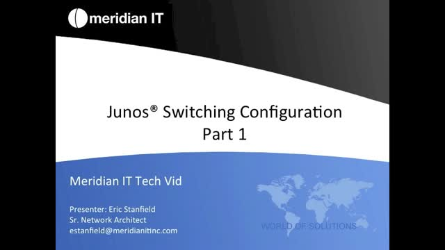 Junos Basic Switching Part 1