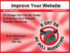10 Things You Can Do Today to Get Better Website Results Tomorrow