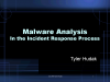Malware Analysis in the Incident Response Process