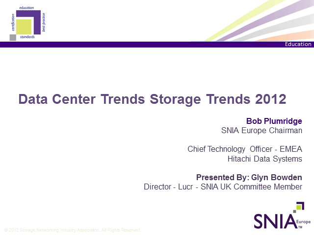 Data Center Storage Trends