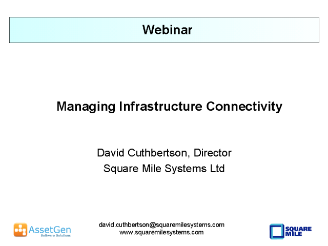 Managing Infrastructure Connectivity