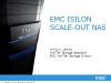 Isilon No-Compromise Scale-Out NAS Technical Webcast