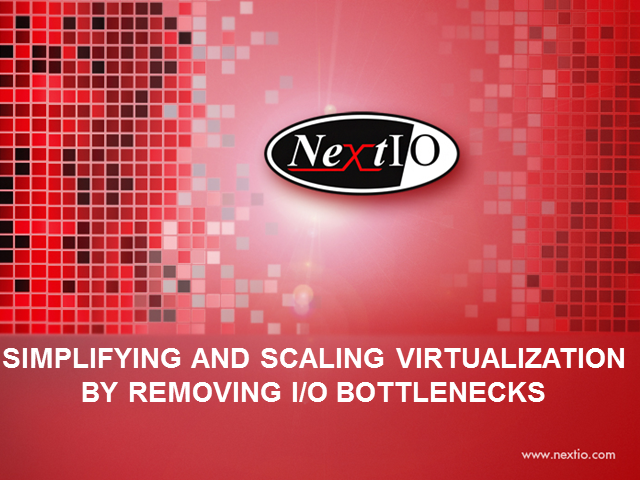 Simplifying and Scaling Virtualization by Removing I/O Bottlenecks