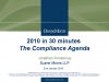 2010 - The Global Compliance Agenda