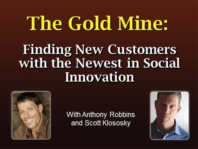 The Gold Mine: Finding New Customers with the Newest in Social Innovation