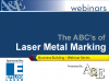 The ABC's of Laser Metal Marking