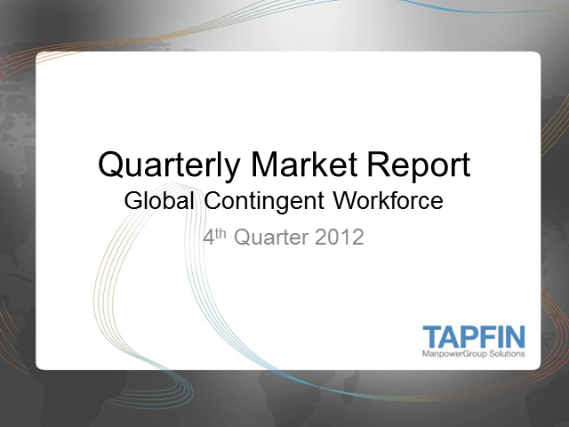 Quarterly Market Report