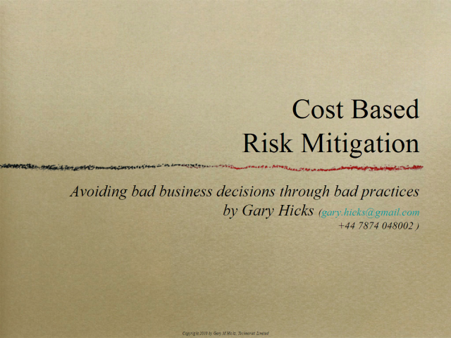 Cost-Based Risk Ownership & Mitigation