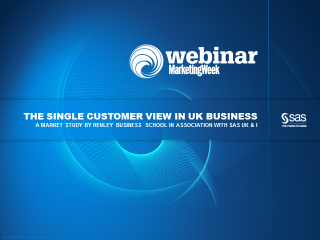 A true Single Customer View - one of the greatest challenges facing marketers