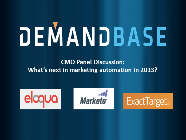 Direction of B2B Marketing Automation for 2013, What's Next?