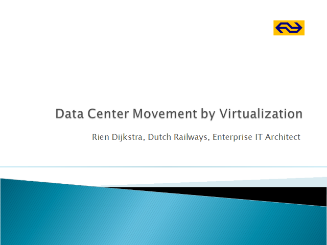 Data Center Movement by Virtualization