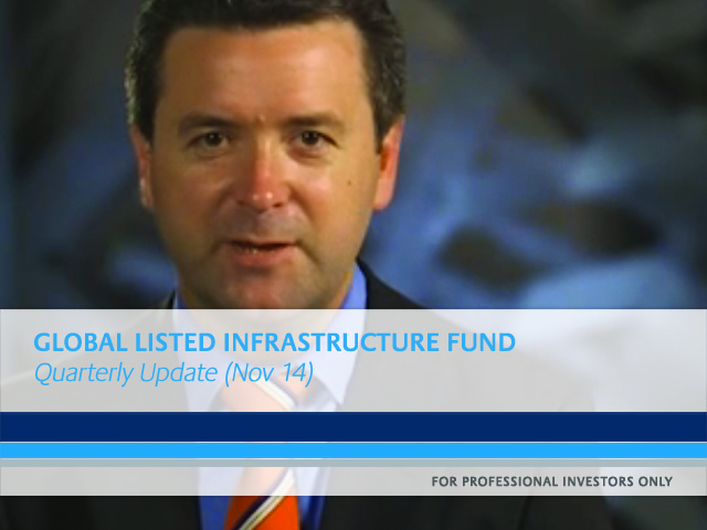 First State Global Listed Infrastructure Fund update