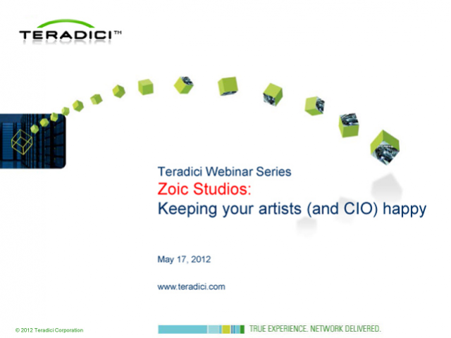 Zoic Studios on remote workstation solutions: Keeping your artists (and CIO) hap