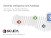 Product Demo: Solera Networks — The 20/20 Visibility Webinar