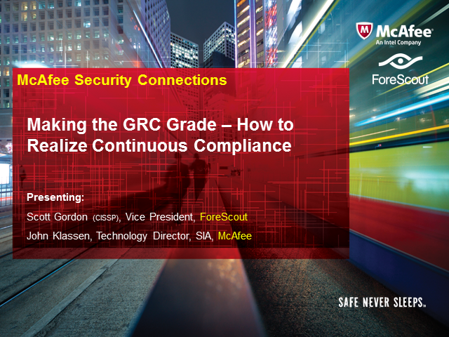 Making the GRC Grade – How to Realize Continuous Compliance