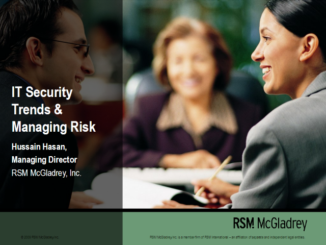 IT Security Trends and Managing Risks