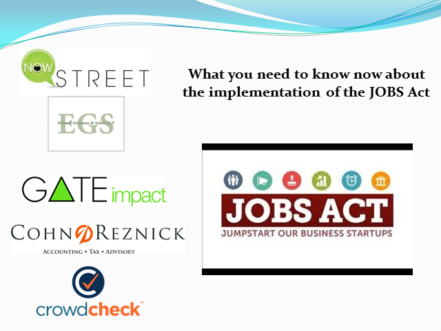 What You Need to Know Regarding the JOBS ACT Implementation