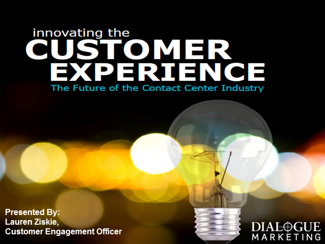 Innovating the Customer Experience