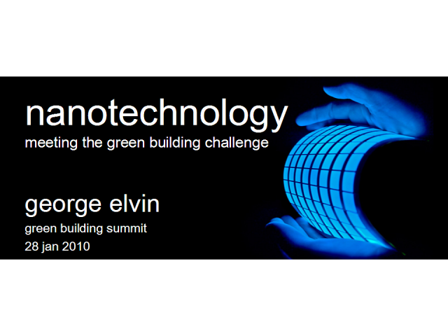 Nanotechnology: Meeting the Green Building Challenge