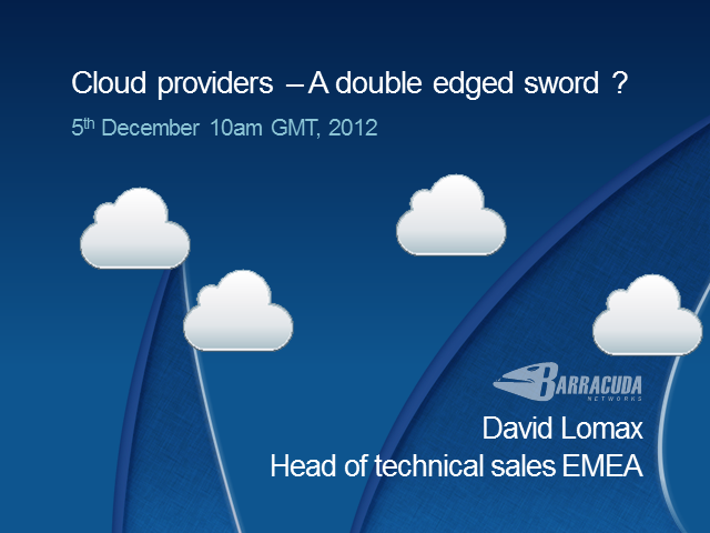 Cloud Providers: A Double-Edged Sword?
