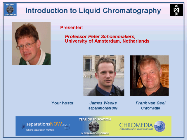 Introduction to Liquid Chromatography