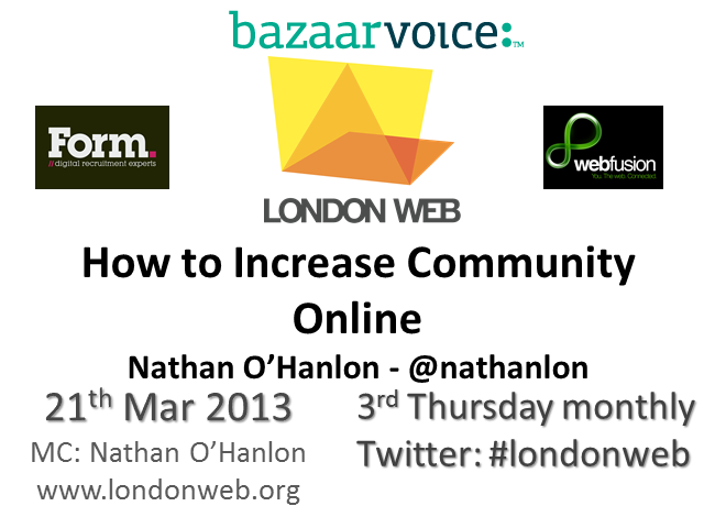 How to Increase Community Online